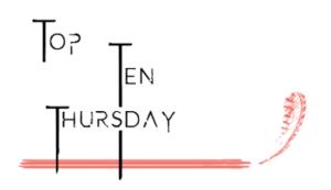 [Aktion] Top Ten Thursday #5