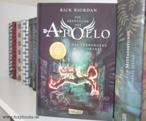 [Rezension] Die Abenteuer des Apollo – Das verborgene Orakel – Rick Riordan