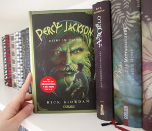 [Rezension] Percy Jackson – Diebe im Olymp – Rick Riordan