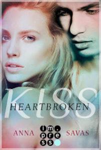 [Rezension] Heartbroken Kiss – Seit du gegangen bist – Anna Savas