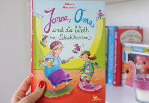 [Rezension] Jonna, Oma und die Welt im Schuhkarton