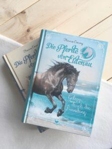 [Rezension] Die Pferde von Eldenau – Galopp durch die Brandung – Theresa Czerny