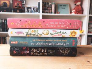 [KiBu-Kurzrezis] gelesene Kinderbuchreihenfortsetzungen